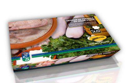 Lengua de Ternera en Salsa Verde (600 gramos)