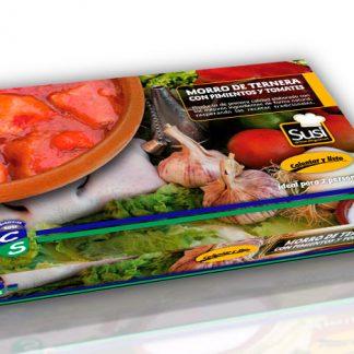 Morro de Ternera con Pimientos y Tomates (600 gramos)