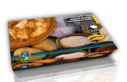 Pata de ternera con patatas y arroz (600 gramos)